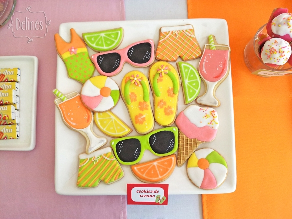 Summer party Ana cookies 1