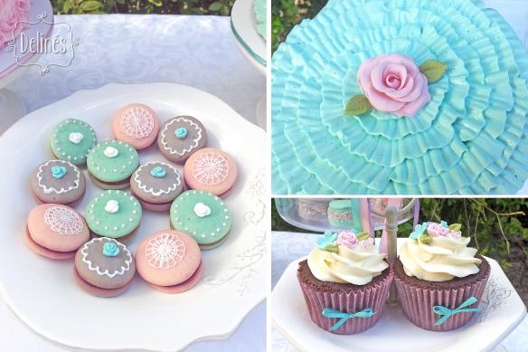 shabby-romantico-con-flores-whoopies-torta-y-cupcakes