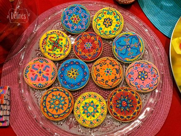 Mandala Francine cookies