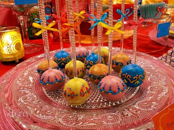 Mandala Francine popcakes detalle