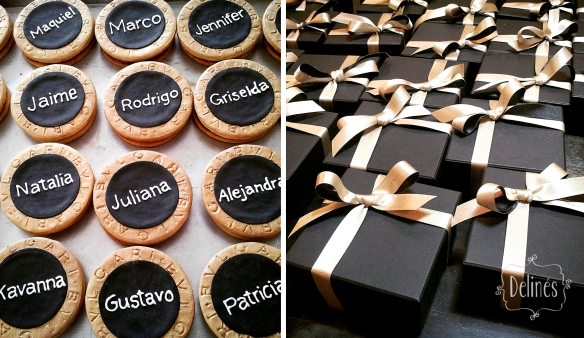 BVLGARI amenities cajas y cookies