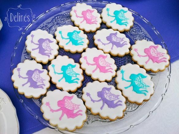 Hadas y flores cookies