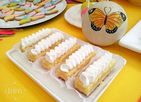 Mariposa multicolor limon