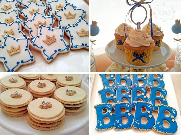 Principito Benjamin cupcakes cookies y mil hojas