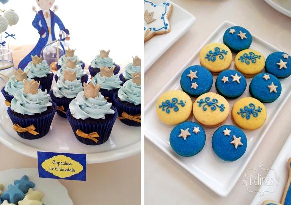 Principito Benjamin whoopies y cupcakes