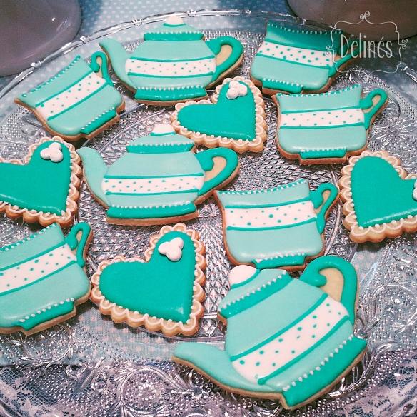 Té romántico cookies